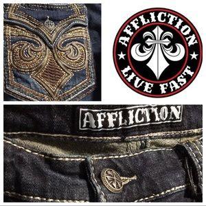Affliction Men's Blake Fleur Knoxville Jeans